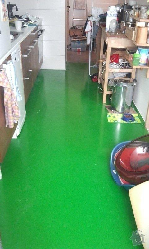 Podlahy v kuchyni a predsini: Fotografie0280