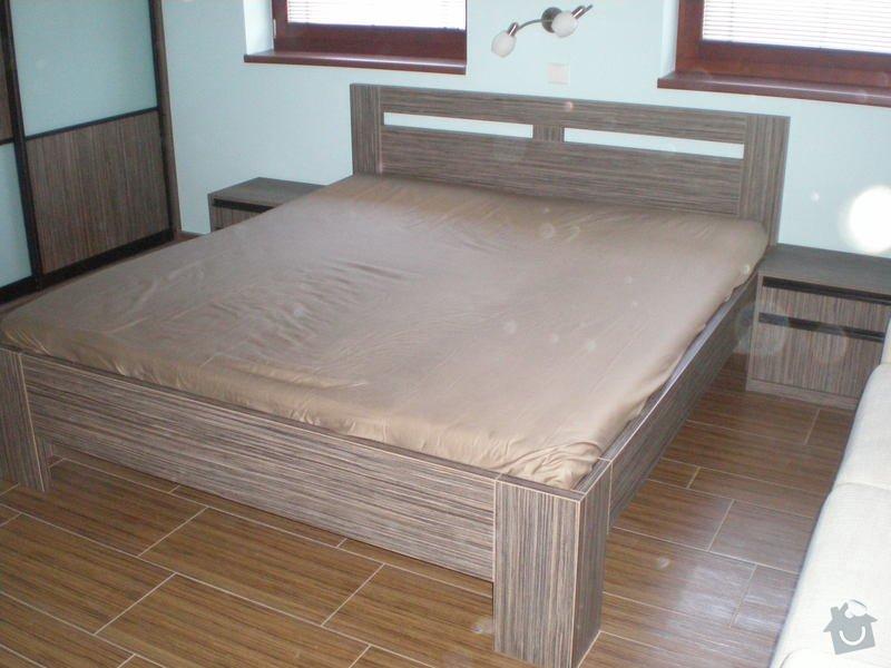 Výrba a montáž postele: postele_005