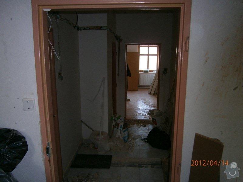 Přestavba kanceláře na bytovou jednotku: P4140003