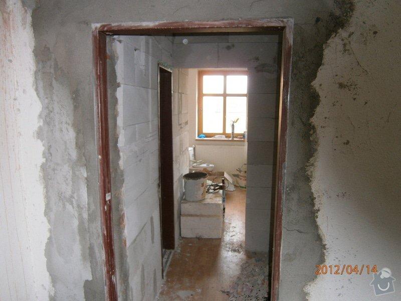 Přestavba kanceláře na bytovou jednotku: P4140004