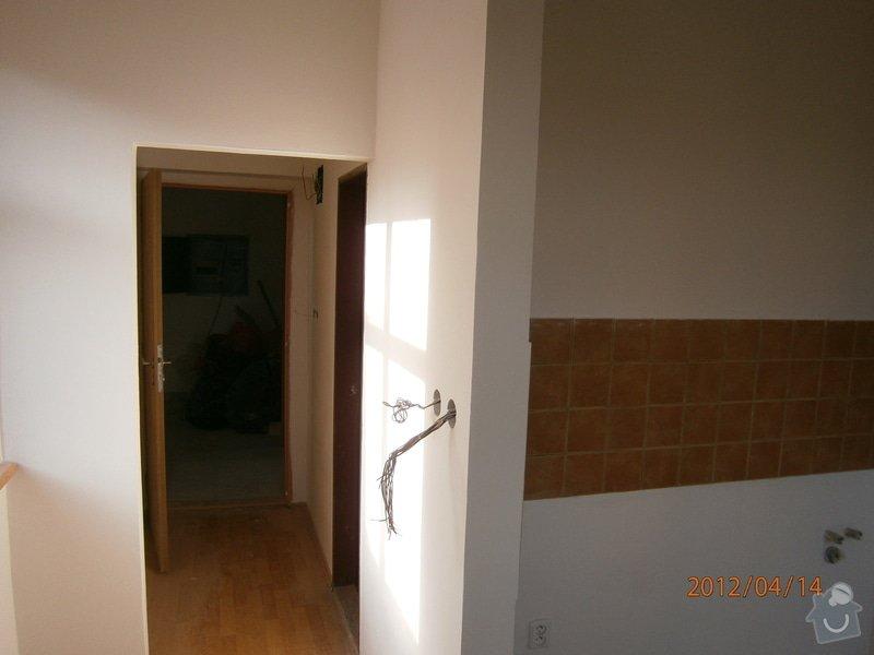Přestavba kanceláře na bytovou jednotku: P4140005