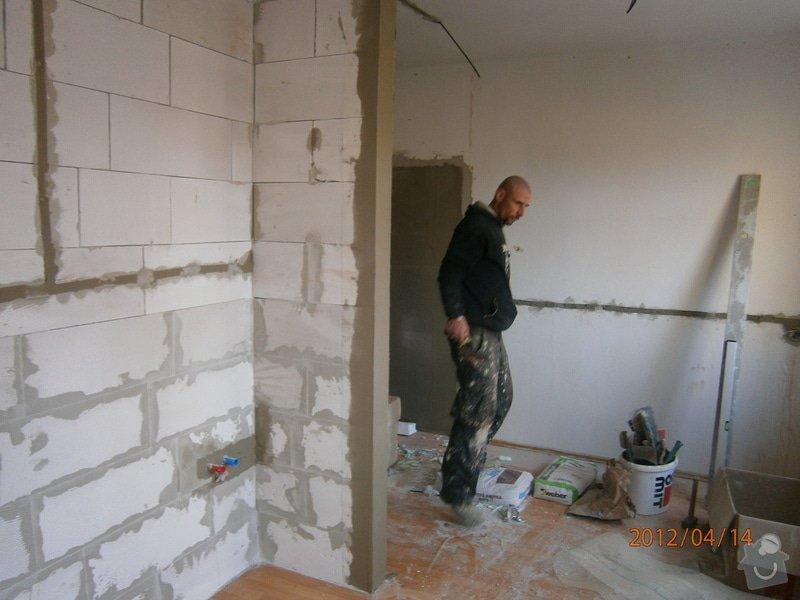 Přestavba kanceláře na bytovou jednotku: P4140012