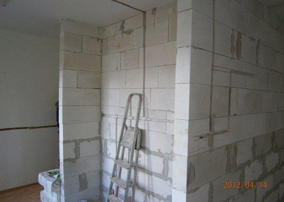 Přestavba kanceláře na bytovou jednotku