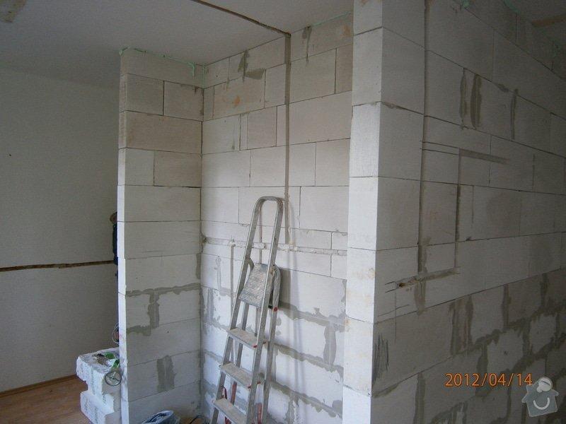 Přestavba kanceláře na bytovou jednotku: P4140045