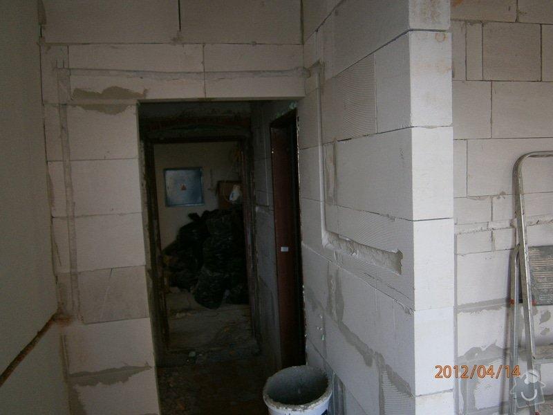 Přestavba kanceláře na bytovou jednotku: P4140046