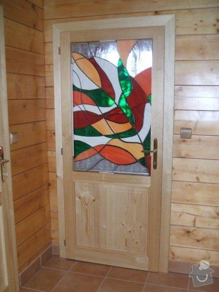 Vyrobení  dřevěných dveří : Vitraz_do_dveri