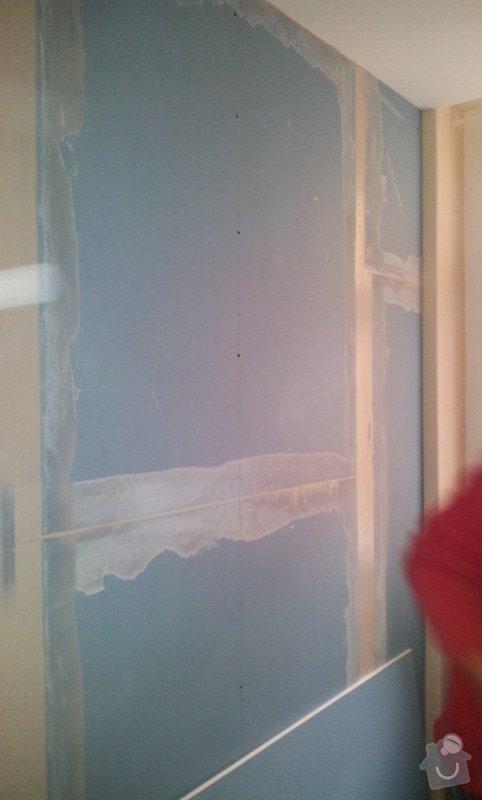 Odhlučnění stěny, malba, předělání elektro: 20121029_103033