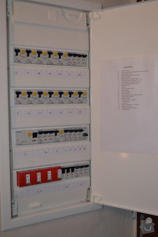 Kompletní elektroinstalace novostavby RD: DSC_0009