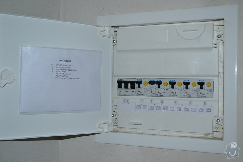 Kompletní elektroinstalace novostavby RD: DSC_0041