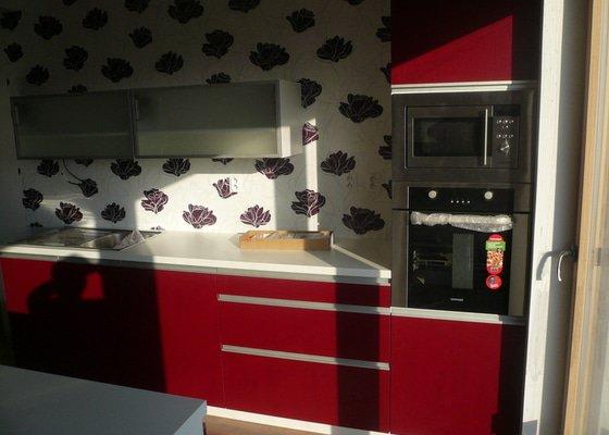 Výroba a montáž kuchyňské linky