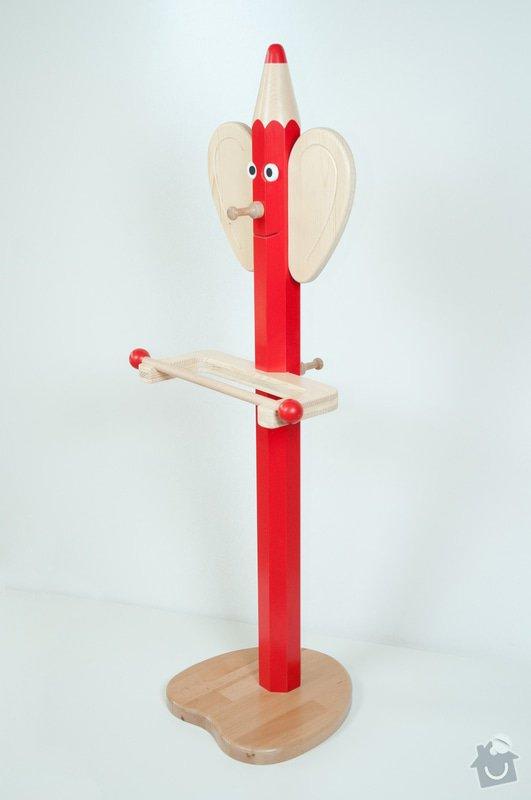 Dětský dřevěný nábytek: _DSC2061