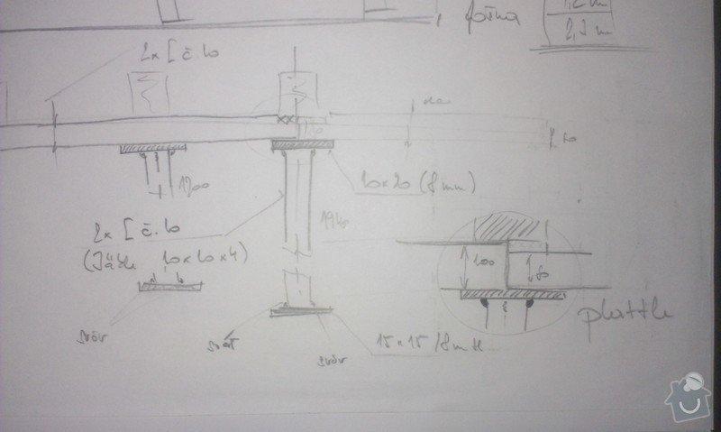Svaření instalovaných jäklových nosníků: IMAG0035