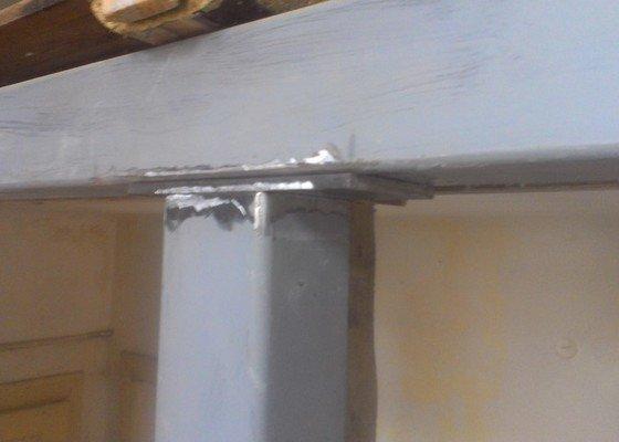 Svaření instalovaných jäklových nosníků