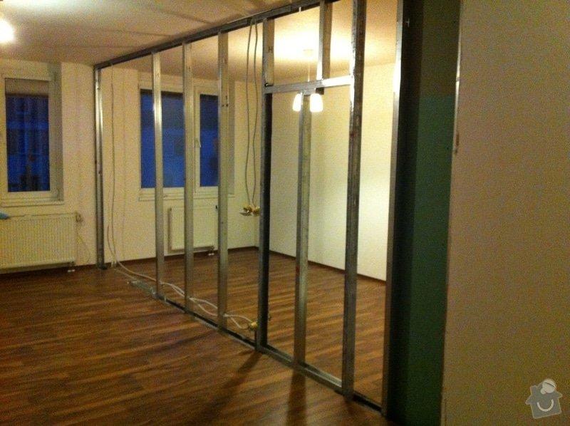 Interiérové práce - SDK příčka + dveřní pouzdro: IMG_0275