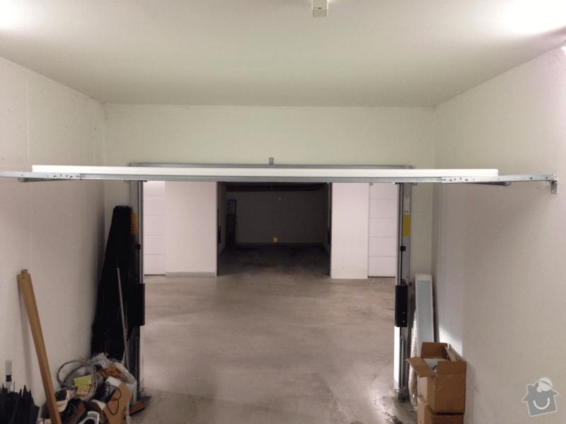 Dodavka a instalace motoroveho pohonu garazovych dveri: gar_5
