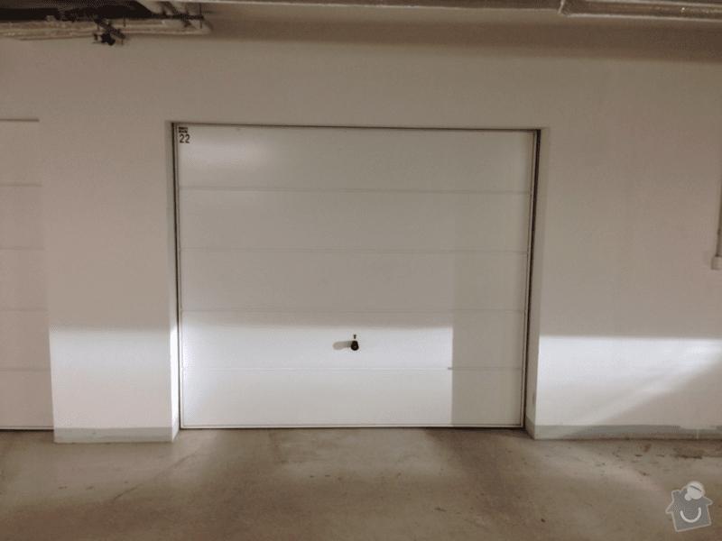 Dodavka a instalace motoroveho pohonu garazovych dveri: gar4