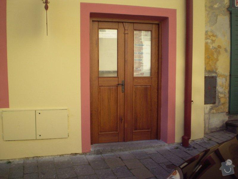 Truhlářství: Trebon_dvere