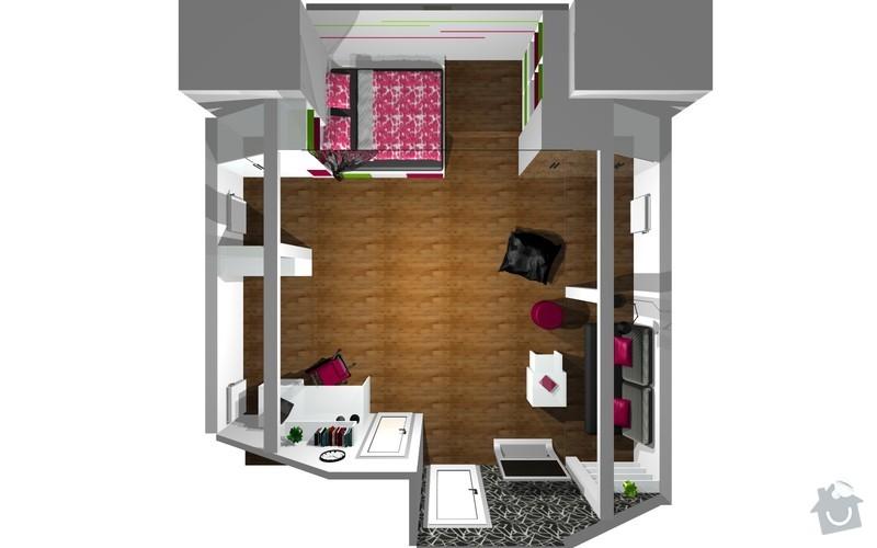 Návrh interiéru a realizace dětského pokoje.: 13
