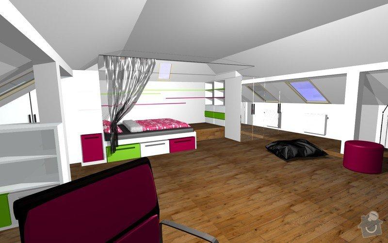 Návrh interiéru a realizace dětského pokoje.: 1