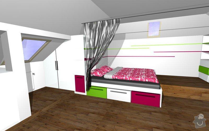 Návrh interiéru a realizace dětského pokoje.: 4