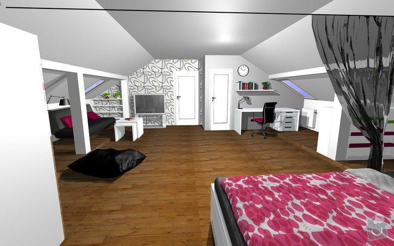 Návrh interiéru a realizace dětského pokoje.: 3