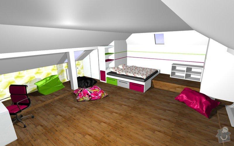 Návrh interiéru a realizace dětského pokoje.: 10