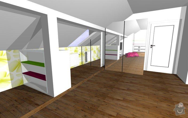Návrh interiéru a realizace dětského pokoje.: 11