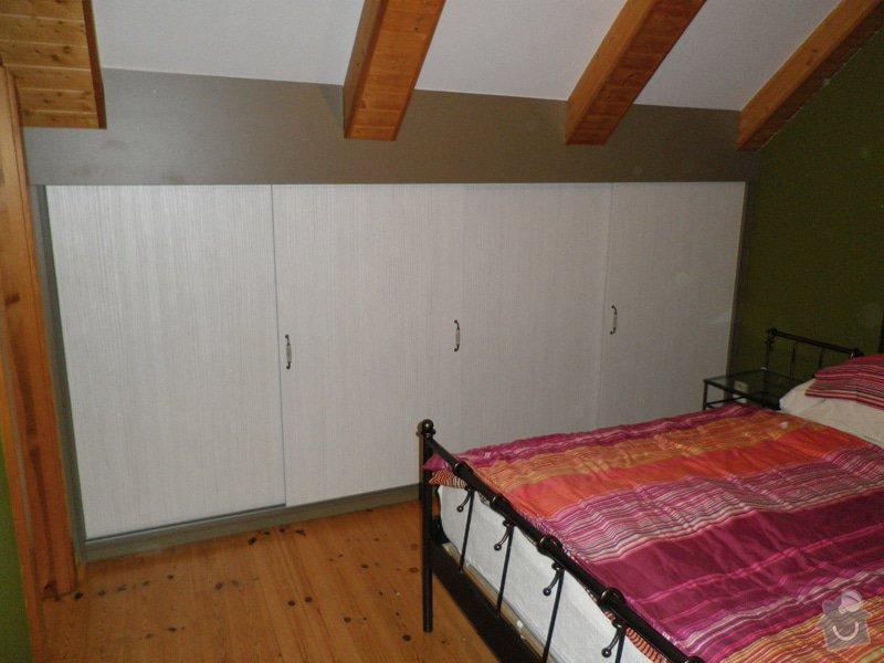 Realizace vestavných skříní v ložnici: 2