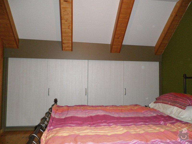 Realizace vestavných skříní v ložnici: 3