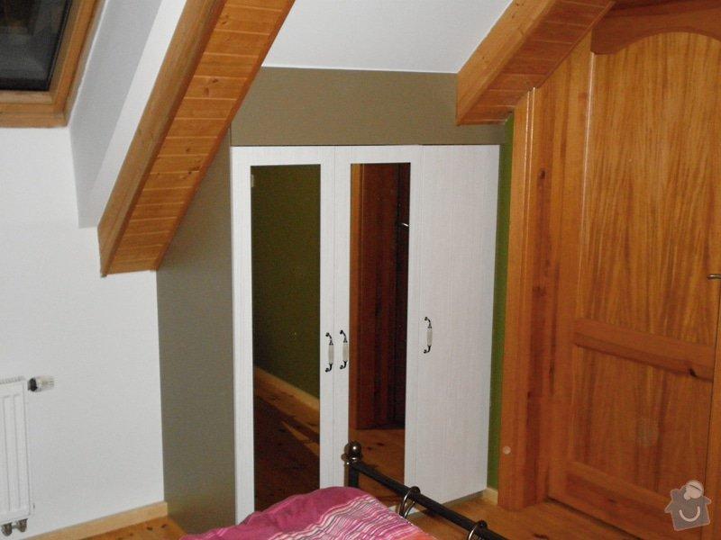 Realizace vestavných skříní v ložnici: 5