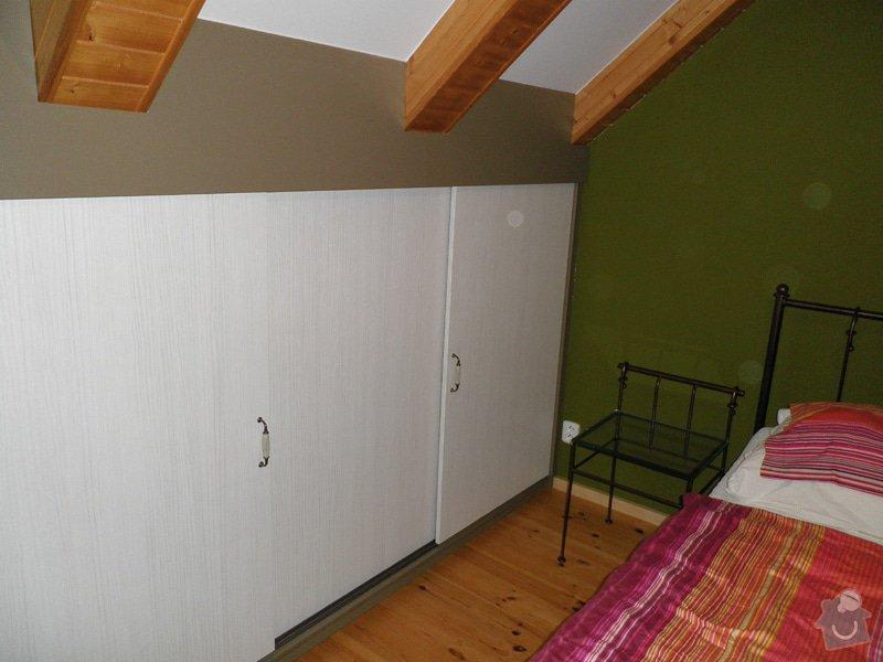 Realizace vestavných skříní v ložnici: 6
