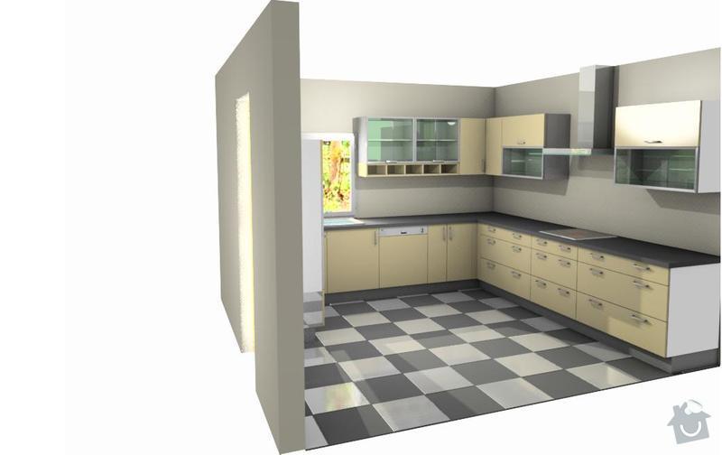 Výrobu kuchyňské linky: vo1
