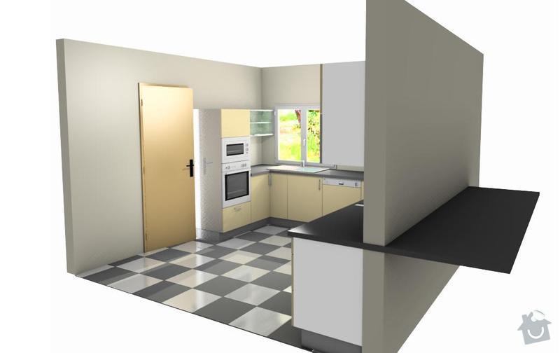 Výrobu kuchyňské linky: vo2