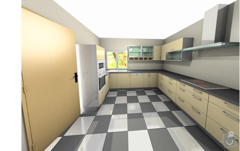 Výrobu kuchyňské linky: vo3