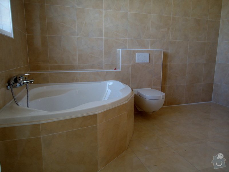 Obklady a dlažby koupelen a teras, opravy: DSC03