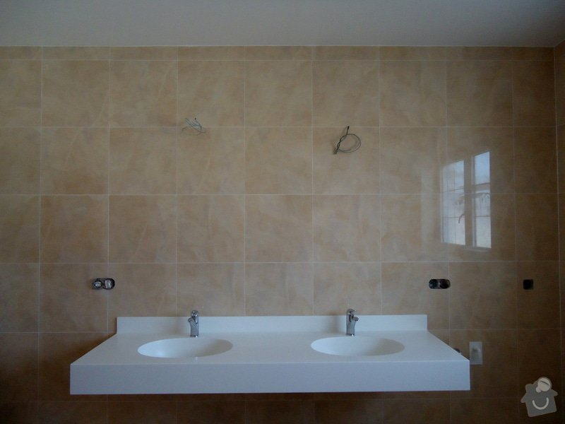 Obklady a dlažby koupelen a teras, opravy: DSC04