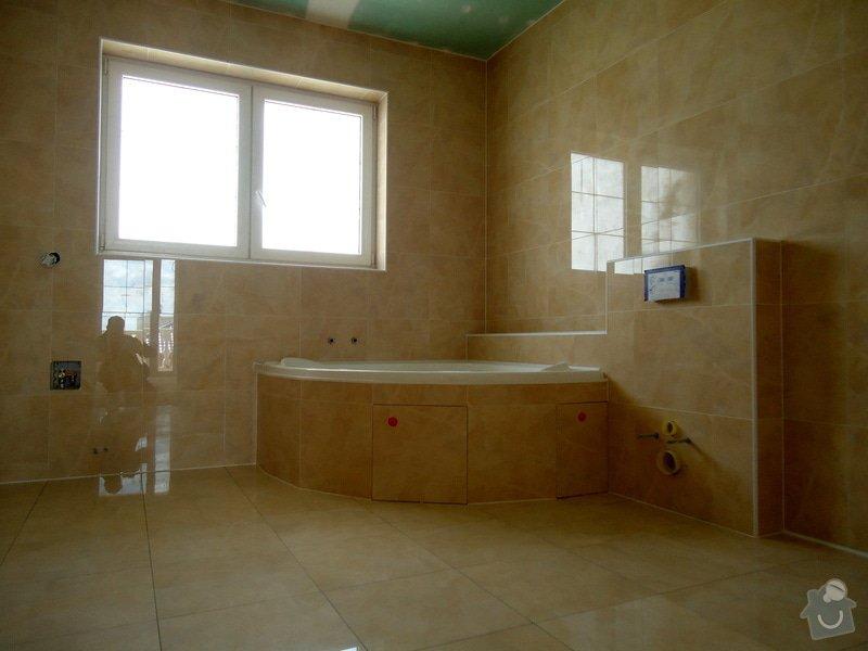 Obklady a dlažby koupelen a teras, opravy: DSC05