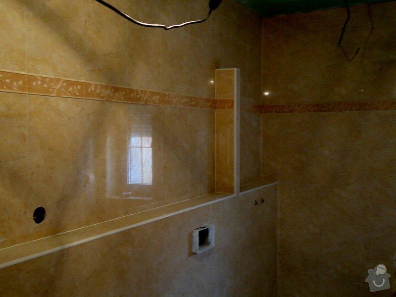 Obklady a dlažby koupelen a teras, opravy: DSC07