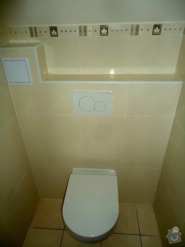 Obklady a dlažby koupelen a teras, opravy: DSC08