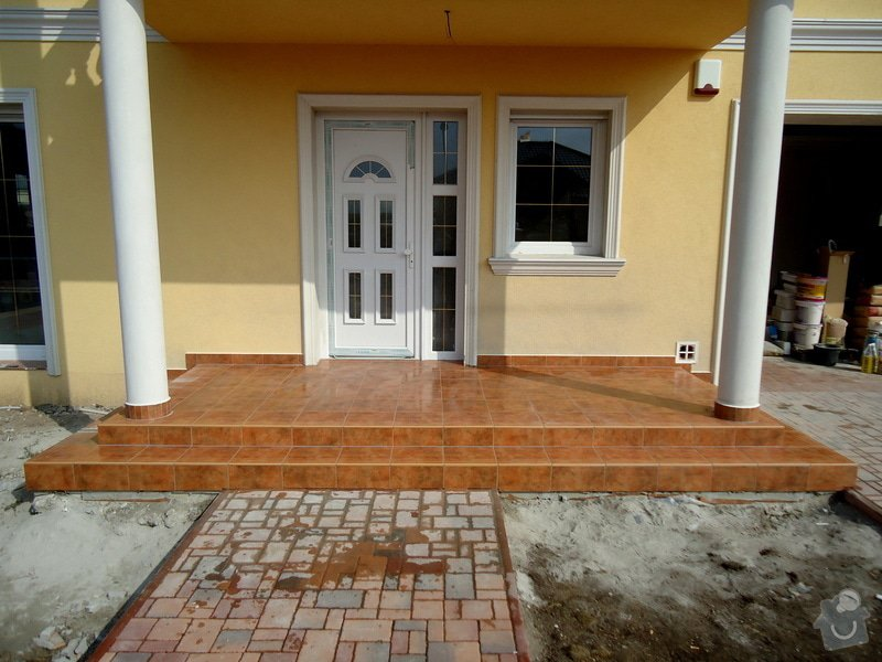 Obklady a dlažby koupelen a teras, opravy: DSC22