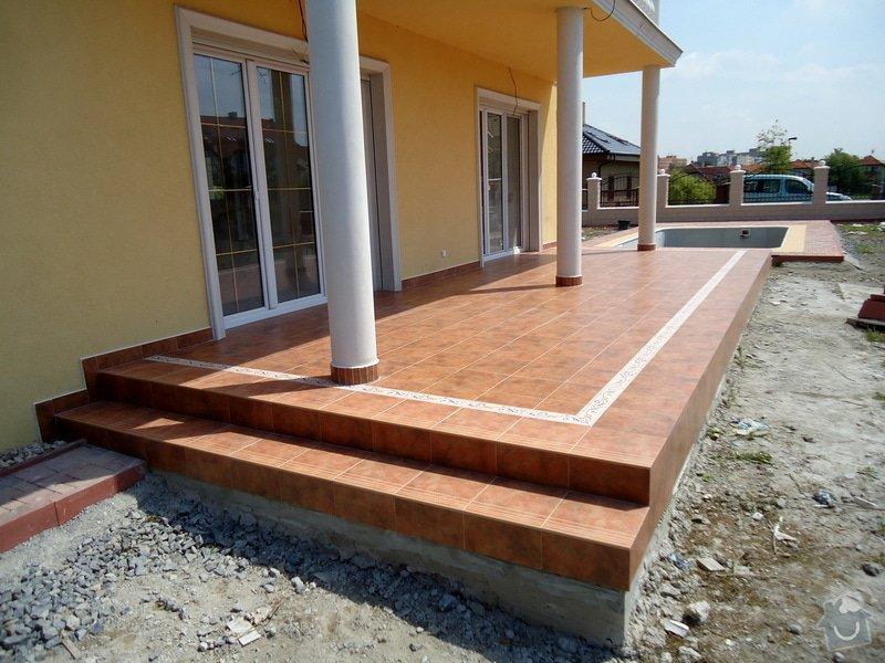 Obklady a dlažby koupelen a teras, opravy: DSC23
