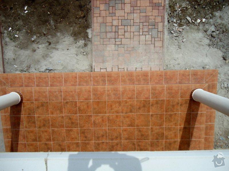 Obklady a dlažby koupelen a teras, opravy: DSC25