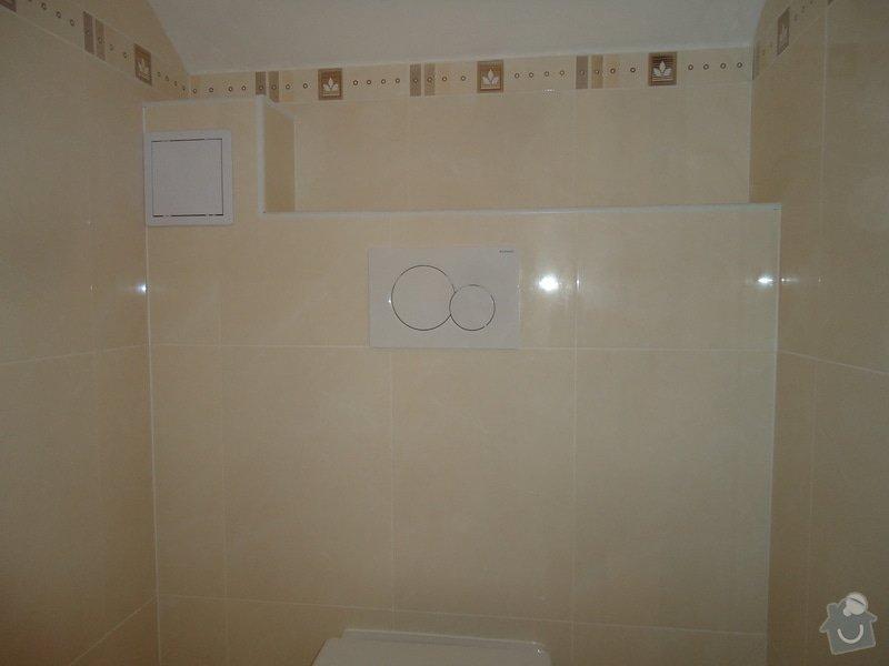 Obklady a dlažby koupelen a teras, opravy: DSC00494