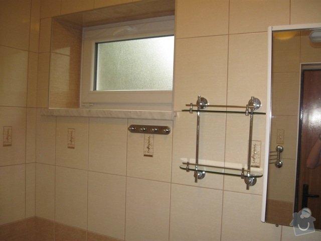 Rekonstrukce koupelny v rodinném domě.: IMG_1432z