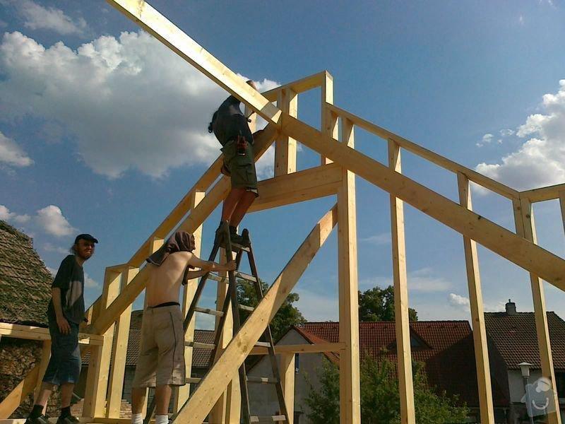 Rekonstrukce rodinného domu formou nízkoenergetické dřevostavby.: 02082012537
