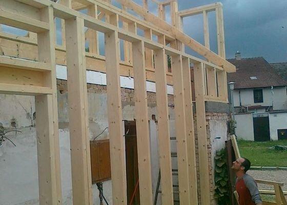 Rekonstrukce rodinného domu formou nízkoenergetické dřevostavby.