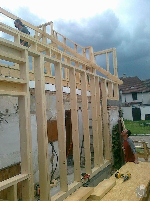 Rekonstrukce rodinného domu formou nízkoenergetické dřevostavby.: 07082012548