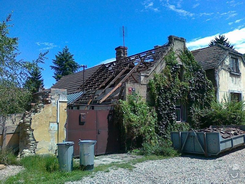 Rekonstrukce rodinného domu formou nízkoenergetické dřevostavby.: 09072012392