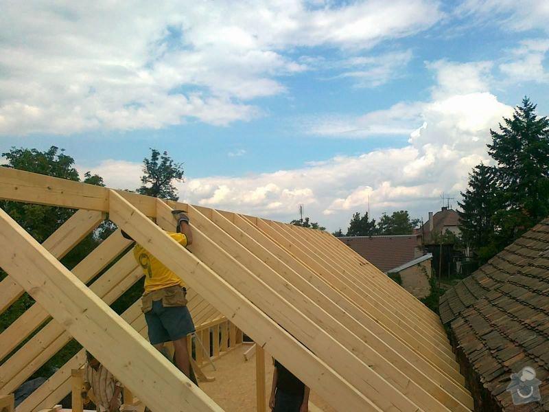 Rekonstrukce rodinného domu formou nízkoenergetické dřevostavby.: 09082012553