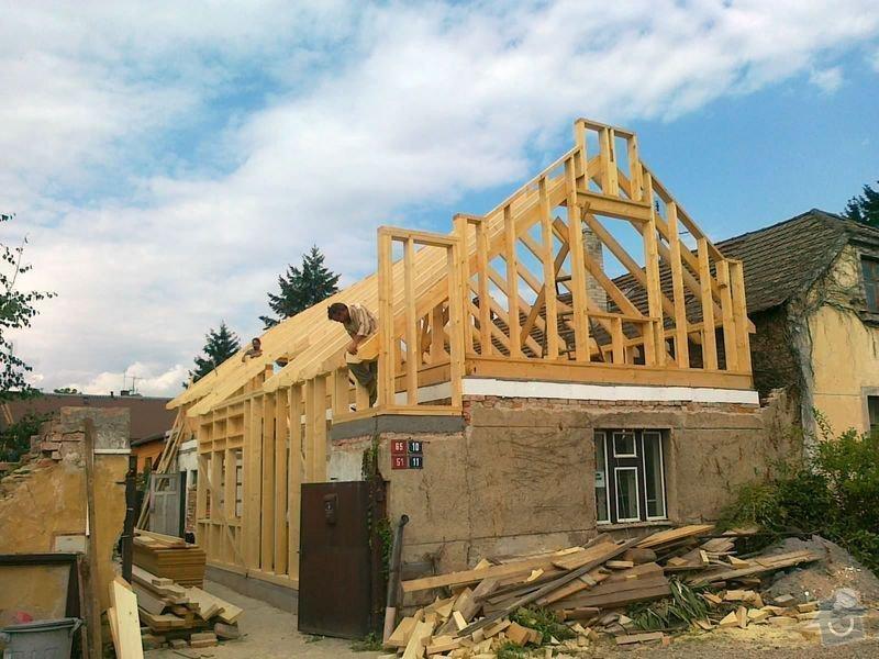 Rekonstrukce rodinného domu formou nízkoenergetické dřevostavby.: 09082012558